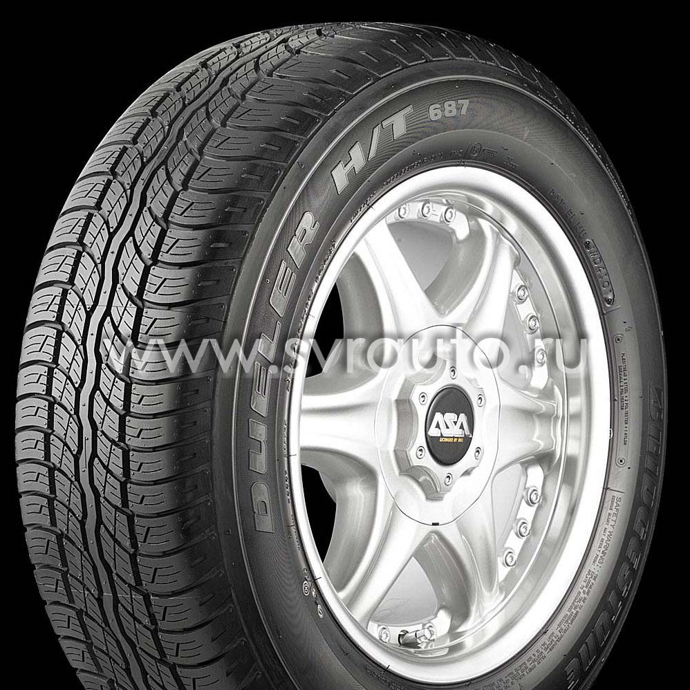 Bridgestone Dueler 687 Rav4 Bridgestone Dueler H/t 687